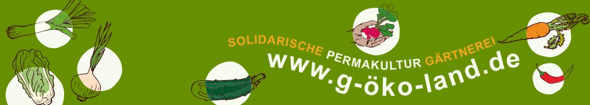 Banner für das G-Öko-Land